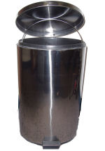 Stainless Steal Trash Bin