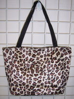 Large Leopard Print Tote Bag