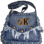 Stonewash Denim Handbags